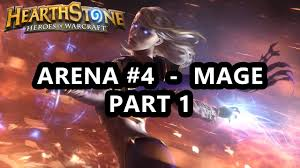 hearthstone arena 4 part 1 3 drop mage central arena mage