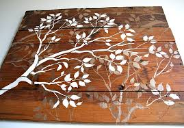 Tree Wall Decor Wood by Mobile My Blog
