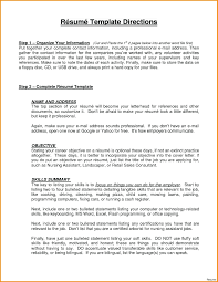 Resume Profile Statement Examples 4 Example 5 Sales