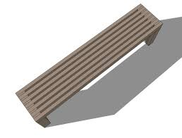 Free Park Bench Plans Wooden Bench Plans by Modern Bench Design 107 Design Images With Modern Park Bench