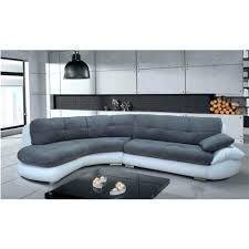 canapé gris et blanc pas cher canape canape gris et blanc deco in ensemble cuir relax