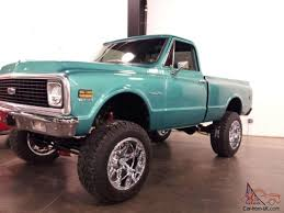 1972 Chevy 4x4 Lifted