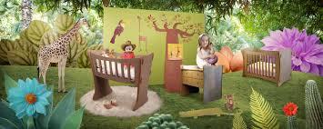 chambre de b b jungle idée déco chambre bébé garçon jungle