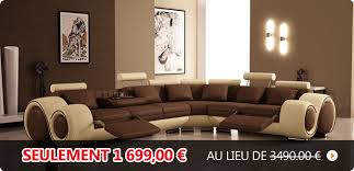canapé salon pas cher canapé pas cher canapés et mobilier design à petit prix