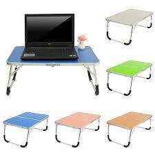 Portable Laptop Desk Table Stand Holder Adjustable Folding Lapdesk
