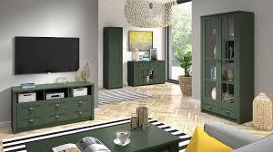 wohnzimmer komplett set a segnas 5 teilig farbe grün