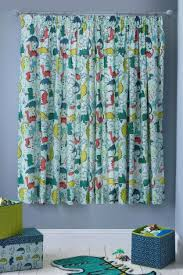 buy dylan the dinosaur blackout pencil pleat curtains from the