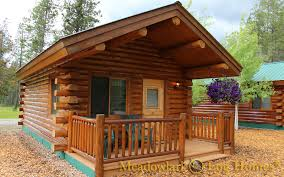 16x20 Shed Plans With Porch by 16x20 Log Cabin Meadowlark Log Homes