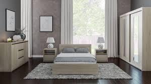 schlafzimmer komplett set a popondetta 5 teilig farbe sonoma eiche