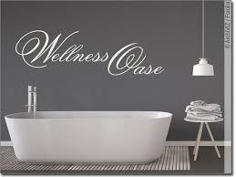 wandworte wellness oase wandtattoo für badezimmer