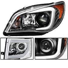 Depo Auto Lamps Catalog Pdf by Amazon Com Spyder Auto Toyota Tacoma Black Ccfl Led Projector