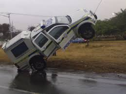 Police Vehicle Caught Getting Airborne!!   Road Safety Blog Funny Ford Jokes Truck Driver Truck Driver Trucker Birthday Cards Trucks Pinterest Safety Traing Effective How To Stay Awake When Driving Readers Digest Carthemed Photos Part 4 Fun Indecent Comedy On Twitter Incest Tower All Look The Same Ha Saw This Highway Today Pics Physics 1 0 Funny Chevy Puns