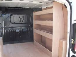 Fiat Doblo 2012 Onwards L1H1 Van Racking Plywood Shelving Storage