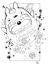 Tonari No Totoro By FelipeAquino On DeviantArt Coloring Pages
