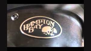 Hampton Bay Ceiling Fan Making Grinding Noise by Defective 2006 Hampton Bay Ceiling Fan Hd Youtube