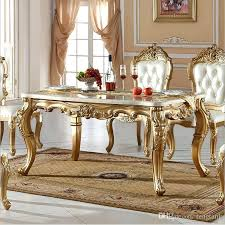Best New Arrival Hot Selling Modern Style Dining Table Inside Room Furniture Prepare 9 Italian For