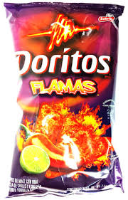 Doritos Flamas Tortilla Chips 11 Oz Pack Of 3