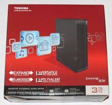 Toshiba Canvio Desk 3tb Manual by Top 9 External Hard Drives Ebay