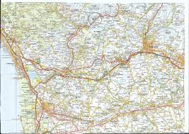 Fullsize Northwest Tuscany Area Map