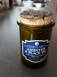 Northern Lights Candle Review Absinthe & Black Fig