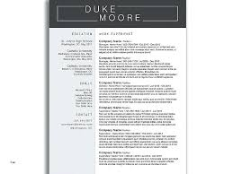 Drive Resume Template Classic Google