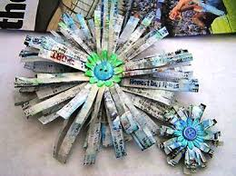 59 Amazing Crafts Using Newspaper
