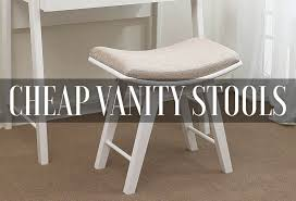 Best Cheap Vanity Stools, Benches & Chairs 2019 (Reviews) - Mirrorank Home Decators Collection Ella Natural Vanity Stool 1199200810 Chair With Suitable Lucite Vanity Stool Brushed Nickel Ideas Newest Selections Of Makeup Homesfeed Emily Upholstered Tyre Cheetah Linen Living Room Chairs Accent Lazboy Bathroom With Backs Comfortable Flare Back Metallic Finish Casters Entzuckend For Gorgeous Target Pulaski Fniture Meyers Park P153136 Transitional Grendha White Pu Leather Etourdissantconz