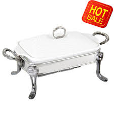 2014 Hot Sale Hight Quality Luxury Chafing Dish 15L Buffet Dishes With Free Stainless Steel