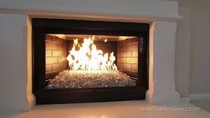 Fireplace Gas Burner Pipe by How To Install An H Burner And Fire Glass In Your Fireplace By
