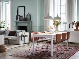 Live In Luxury But At An Affordable Price IKEA EKEDALEN White Extendable Table And