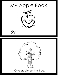 Apple Booklet Using Fingerprints To Add Apples Each Pagecute Counting