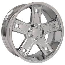 100 Rims Truck Amazoncom 22x9 Wheels Fit GM Chevy Silverado Style Chrome