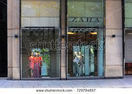FRANKFURTGERMANY MAY 09 ZARA Fashion Store Exterior On May 092017