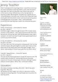 Create A Better Resume For Online Esl Teaching Jobs Reviews Rh Oetjobs Com Best Career Change Sample