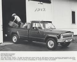 100 Pioneer Trucks 1975 Jeep J20 Pick Up Truck Digital Collections