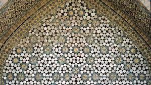 medieval islamic mosaics used modern math