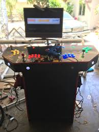 4 Player Arcade Cabinet Blueprints by Raspberrypi Retropi 4 Player Arcade Machine Based Off