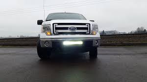 2009-2014 Ford F150 LED Center Bumper Mount Kit (For 20