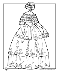 Picture Victorian Coloring Pages 17 On For Kids With