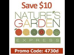 code promo s garden nature s garden express promo code save 10 use code 4730d