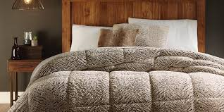 Cannon Faux Fur forter – Brown Home Bed & Bath Bedding