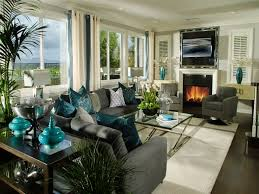 Brown And Teal Living Room by Brown Living Room Teal Accents Homes Design Inspiration