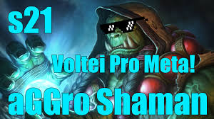 Shaman Overload Deck Loe by Xamã Agressivo Aggro Shaman Gameplay S21 Youtube