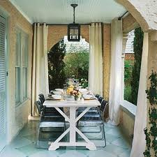 ideas of outdoor curtains for patio house design ideas