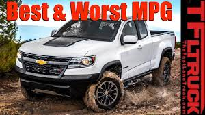 Top 5 Least & Most Fuel Efficient Trucks Counted Down - YouTube