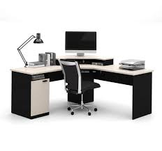 Ameriwood Computer Desk With Shelves by L Shaped Gaming Computer Desk Corner Workstation Home Office