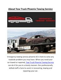 Tow Truck Towing Service In Phoenix AZ By Tow Truck Phoenix Towing ...