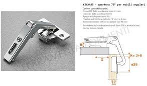 salice hinge for corner with double doors