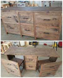 Diy Reclaimed Wood Table Top by Best 25 Reclaimed Wood Desk Ideas On Pinterest L Desk Rustic