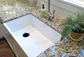 Kohler Whitehaven Sink Scratches our farmhouse sink tips to clean and care for porcelain sinks
